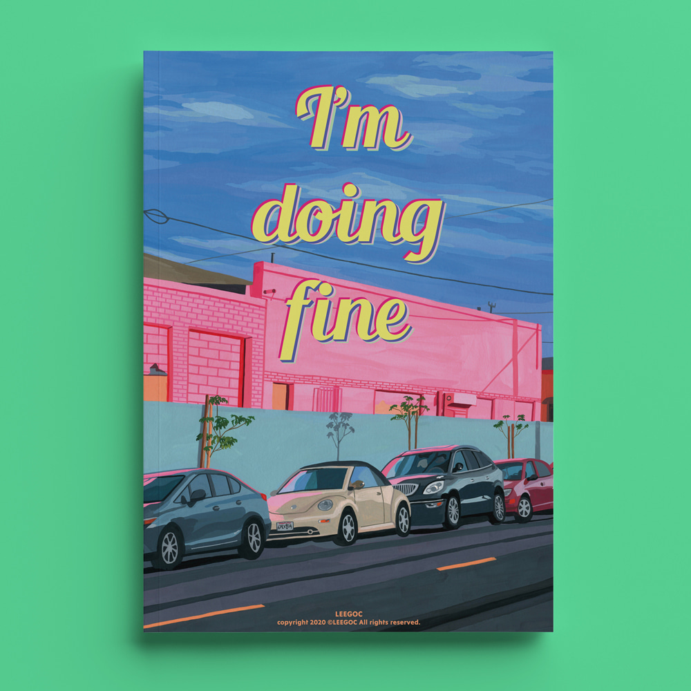 l'm doing fine poster book